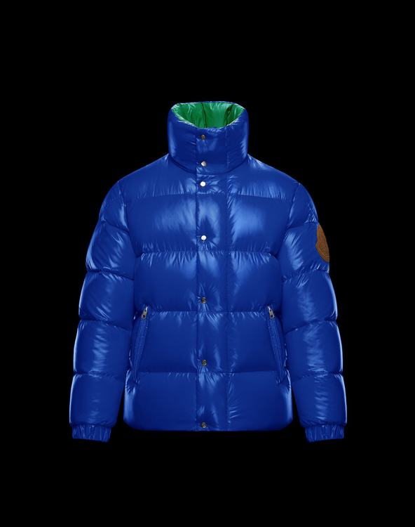 Moncler 1952 + VALEXTRA DERVAUX Men Jacket Blue