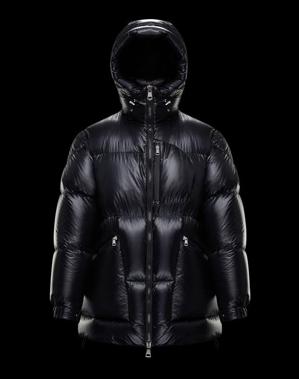 Moncler 1952 + VALEXTRA JOELE Men Coat Black