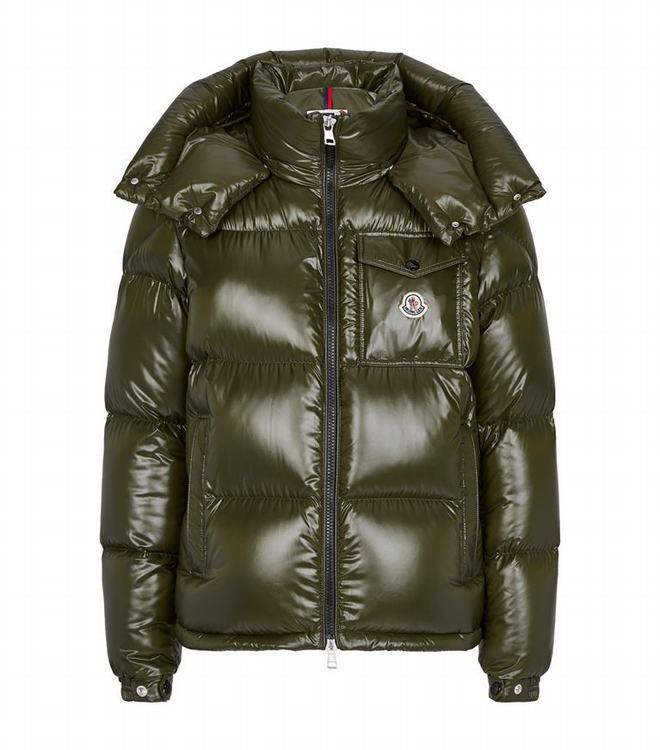 Moncler MONTBELIARD Men Coat Army Green