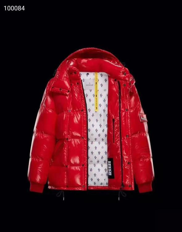 Moncler STYLEBOP Men Down Coat Red