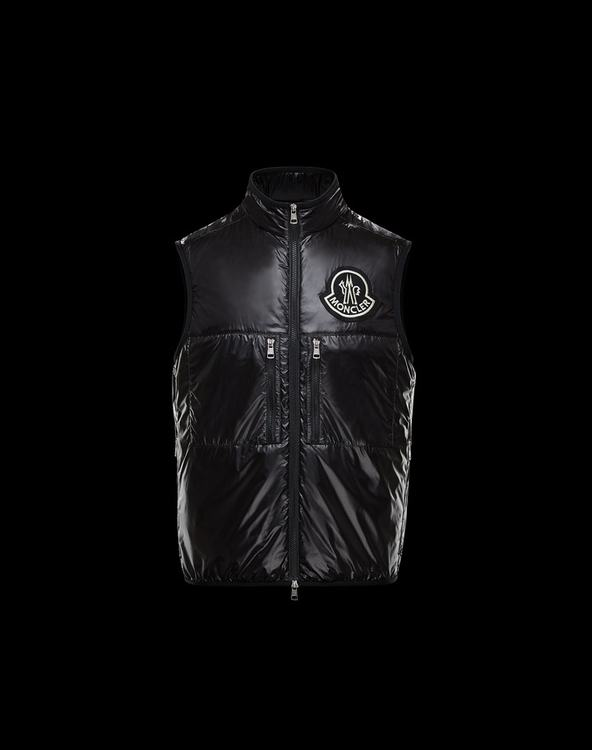 MONCLER 1952 FOURNIER Mens VEST Black