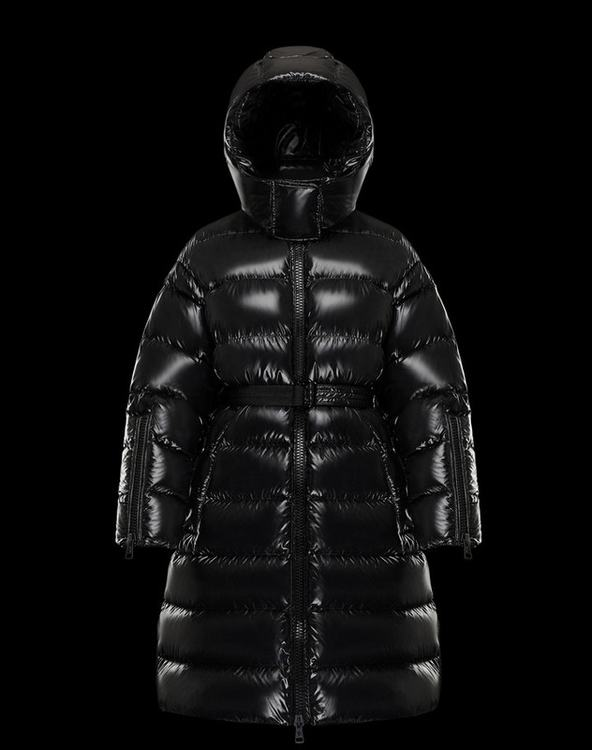 MONCLER AMELANCHIER Womens Done Coat Black