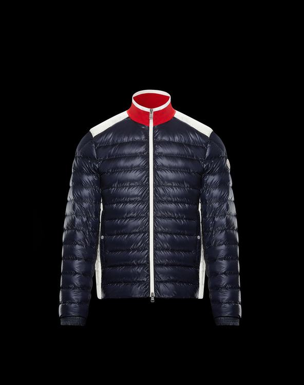 MONCLER BARTEAU MENS JACKET Blue