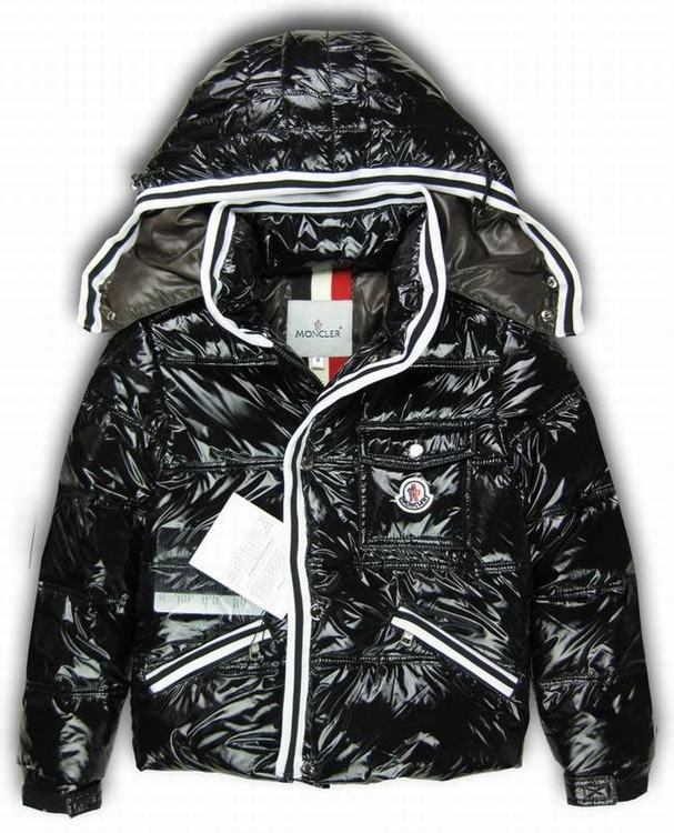 Moncler Branson Kids Coats Black