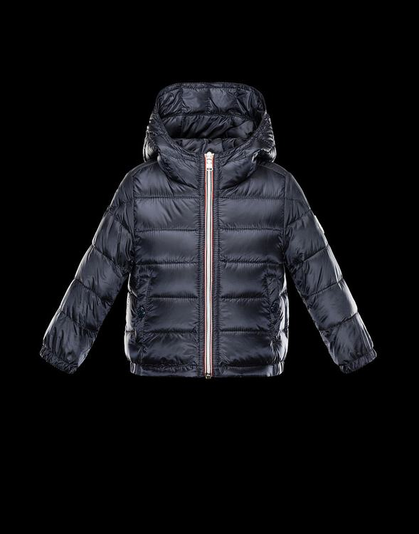 Moncler Enfant Dominic Kids Coats Dark Blue