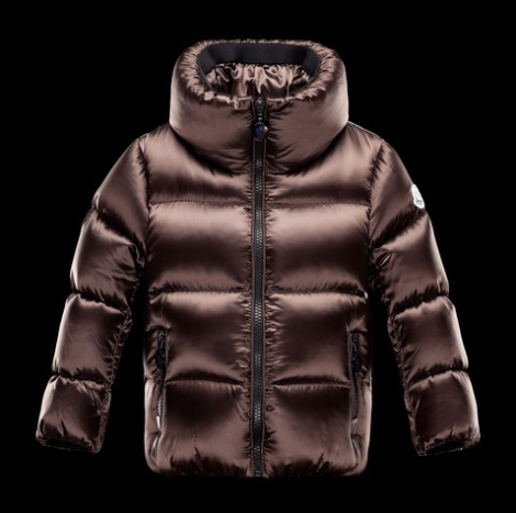 Moncler Enfant Erable Moka Kids Coats Gold Brown
