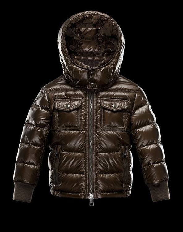 Moncler Enfant Fedor Kids Coats Brown