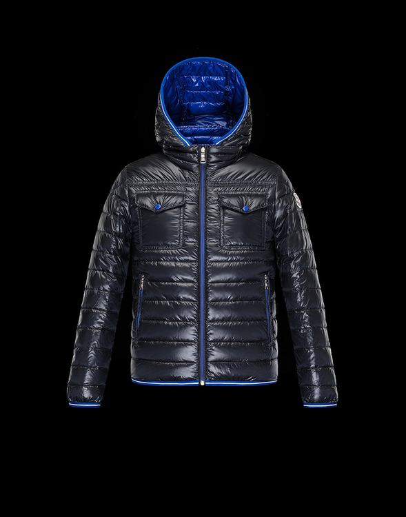 Moncler Enfant Fedor Kids Coats Dark Blue