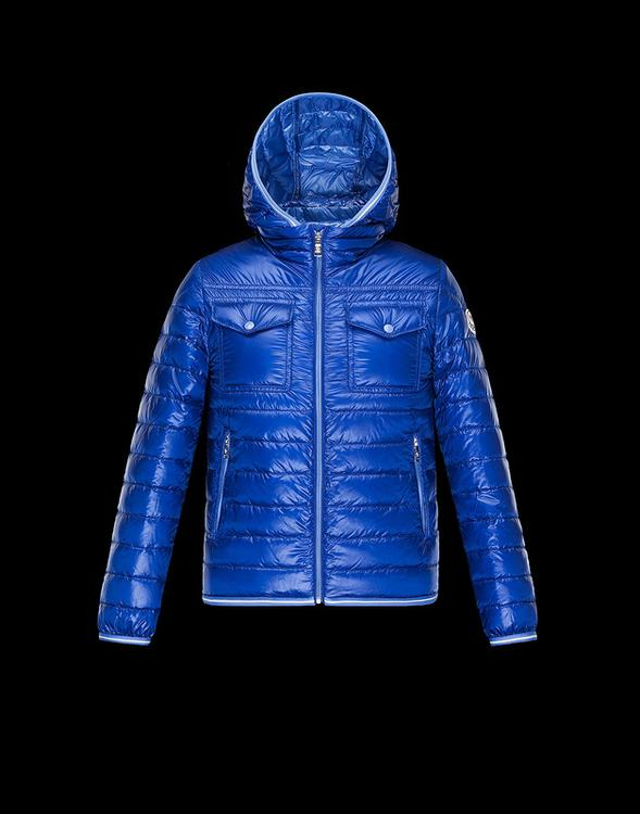 Moncler Enfant Fedor Kids Coats Royal Blue
