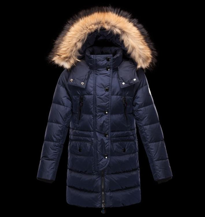 Moncler Enfant Fragon Kids Coats Navy Blue