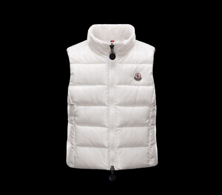 Moncler Enfant Ghany Kids Sleeveless Coats White