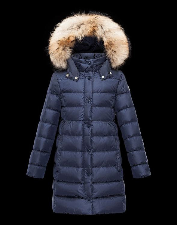 Moncler Enfant Neste Kids Coats Blue