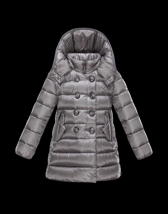 Moncler Mantel Kids Coats Silver Grey