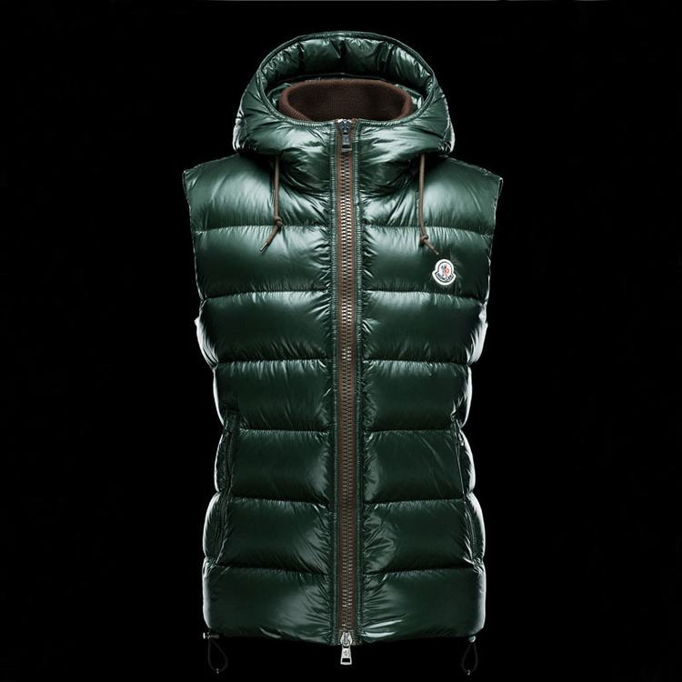 MONCLER BARTHOLOME MEN VEST Green