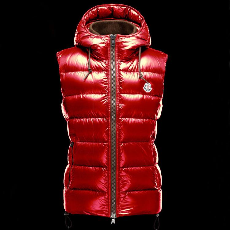 MONCLER BARTHOLOME MEN VEST Red