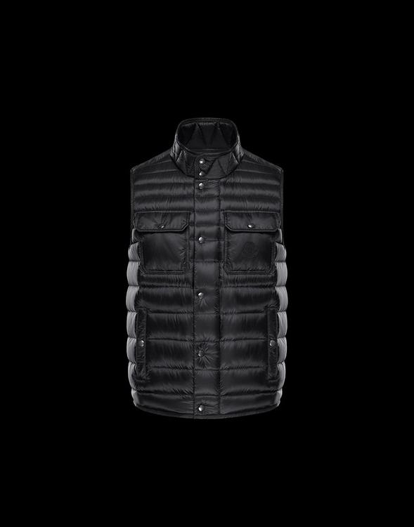 MONCLER EVER Men VEST Black