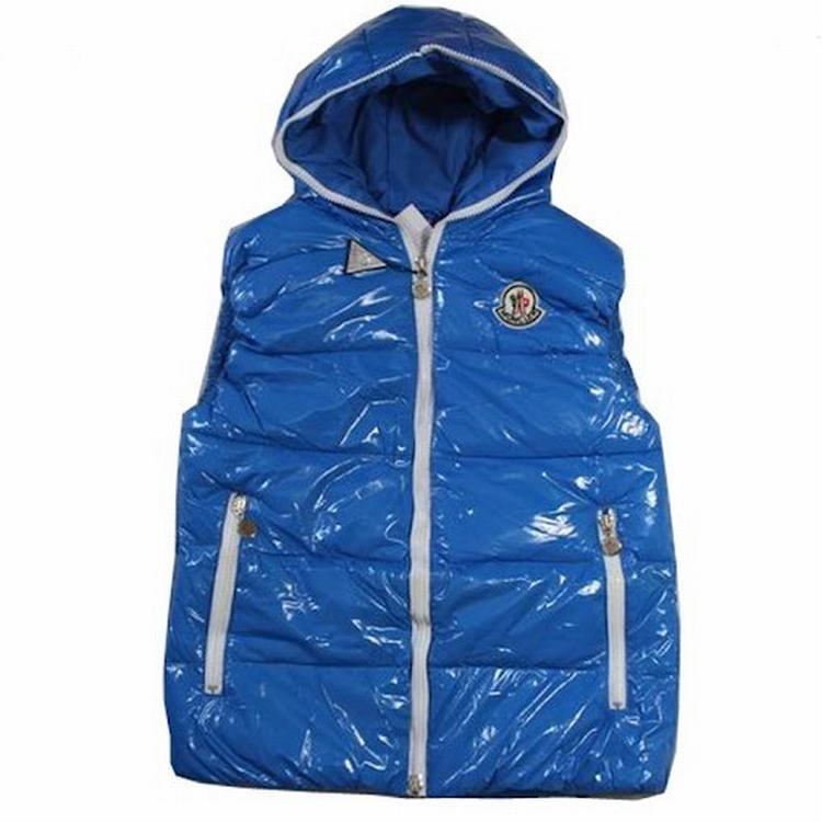 Moncler V41 Men Women Vest Navy