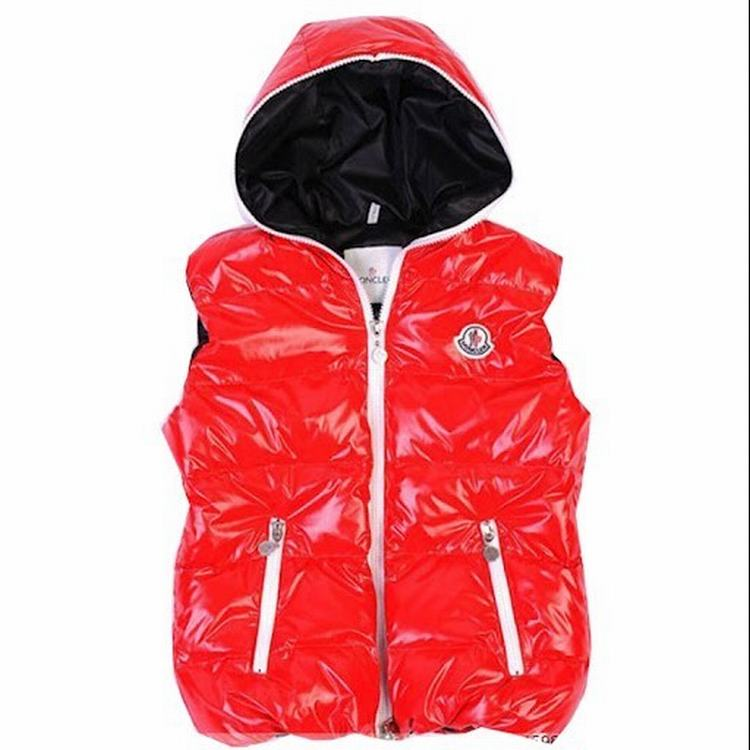 Moncler V41 Men Women Vest Red