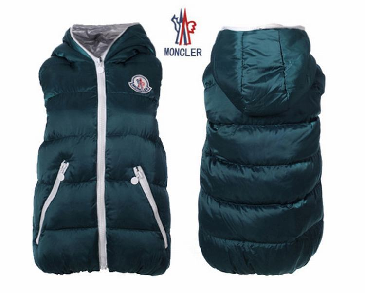 Moncler V41 Men Women Vest Green