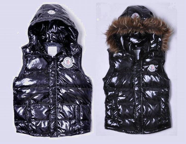 Moncler V42 Men Women Black