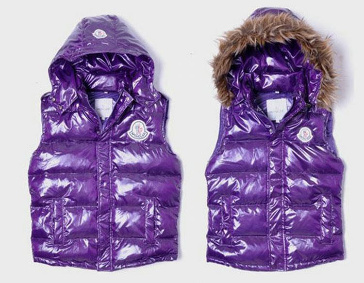 Moncler V42 Men Women Purple