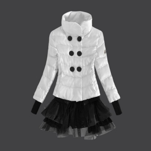 Moncler Grenoble Women Coats White