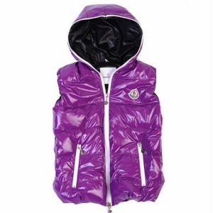 Moncler V41 Men Women  Vest Purple